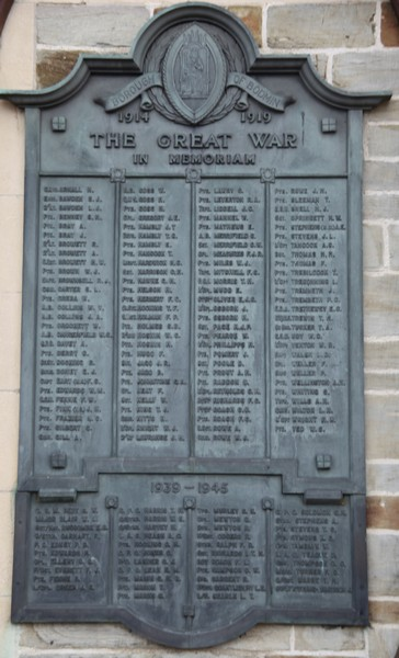 War Memorial - Charles Henry HOCKING