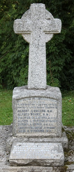 War Memorial - William John PAUL
