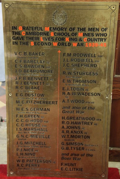 War Memorial - Vincent Brice Carew BAKER
