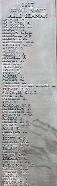 War Memorial FACE - 21b