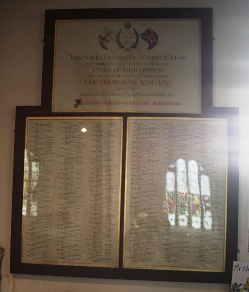 Roll of Honour -