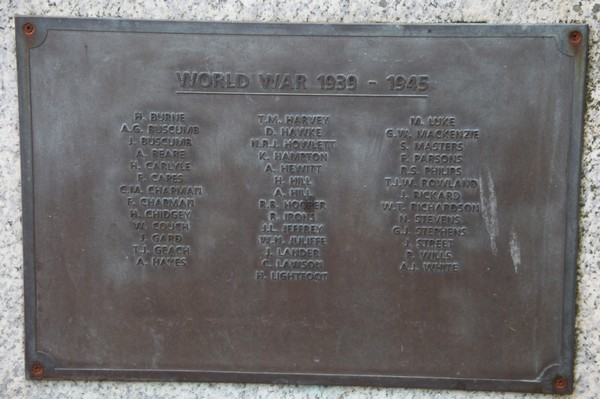 War Memorial FACE -