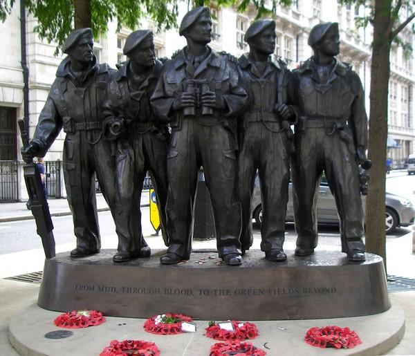 War Memorial - Royal Tank Corps Memorial London